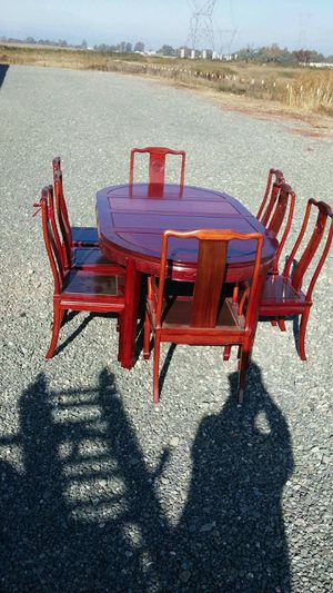 Rosewood dining table seats 8 for Sale in Bethel Island, CA