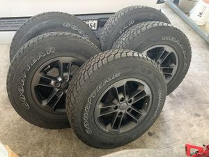 2017 Jeep Wrangler 75th anniversary wheels rines yantas for Sale in Houston, TX