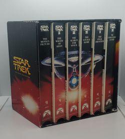 VHS box set of Star Trek movie collection for Sale in Davis,  CA