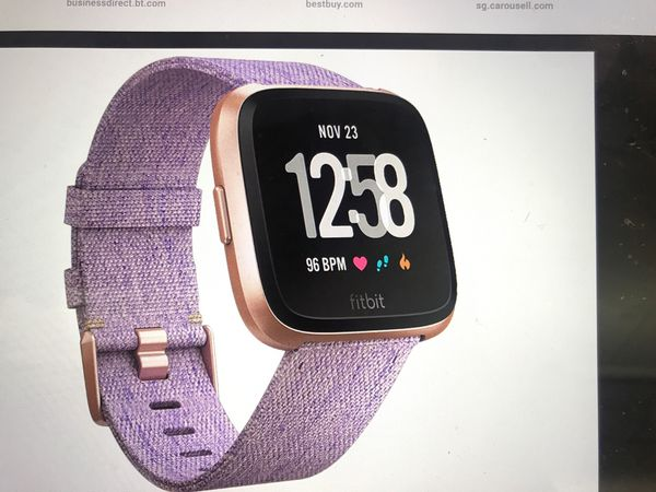 Brand new sealed Fitbit versa S.E. smart watch lavender