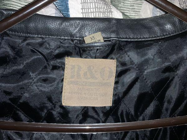 Men's R&O Leather Jacket | Size XL