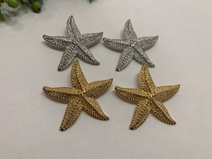 Fashion Shiny Ocean Sea Starfish Earrings For Women,Gold and Silver Color (2 sets) for Sale in Irvine, CA