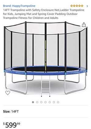14FT Trampoline for Sale in Savannah, GA