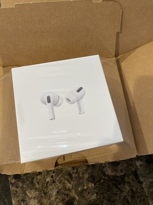 Real AirPods Pros. Don't need them- i have some already for Sale in Camden, NJ