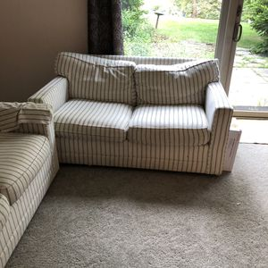 FREE 2 Love seat couches smoke free pet free home for Sale in Ann Arbor, MI