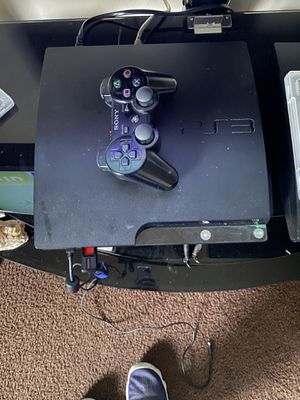 PS3 MODDED 11 GAMES 1 CONTROLLER BLUERAY DOESNT WORK .. $70 FIRM LEAVE YOUR NUMBER IF INTERESTED.. for Sale in Fresno, CA