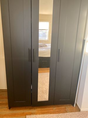 Wardrobe with mirror for Sale in Parsippany-Troy Hills, NJ