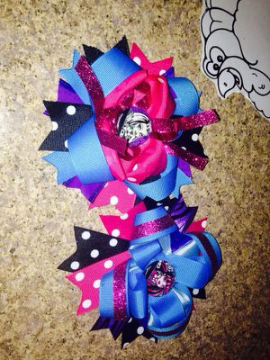 Monster high bows for Sale in Houston, TX