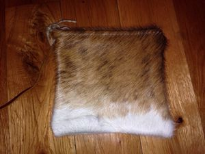 Goat hide wallet or coin pouch for Sale in Dallas, TX