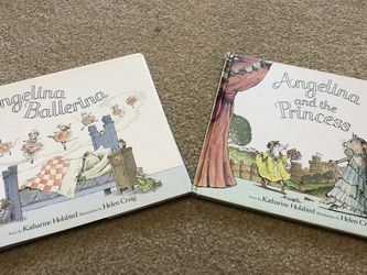 Angelina Ballerina Set Of 2 Hardcover Books for Sale in Smyrna,  TN