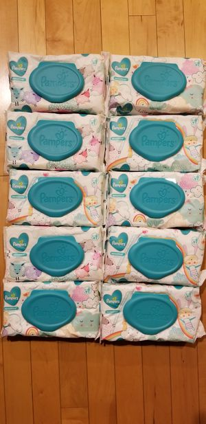 Pampers wipes for Sale in Olympia, WA