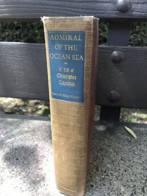 ADMIRAL OF THE SEA: A life of Christopher Columbus 1942 for Sale in Los Angeles, CA