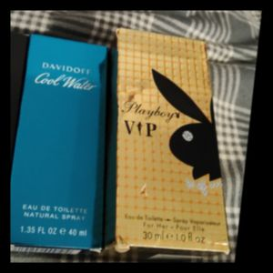 Men's Cool Water & Playboy VIP Cologne for Sale in Tampa, FL