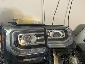 2017 GMC Sierra Denali headlights for Sale in South Houston, TX