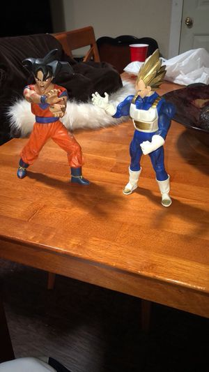 Dragonball Z Goku and Vageta for Sale in Dallas, TX