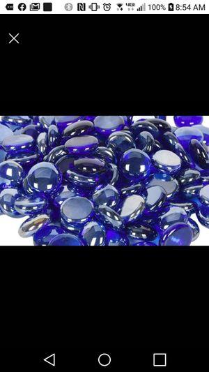 "Blue Fire Glass Beads 3/4"" 10lb Brand New! for Sale in Kailua-Kona, HI"