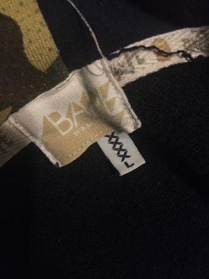 Bape XXXXL zipper hoodie READ DISCRIPTION for Sale in Oklahoma City, OK