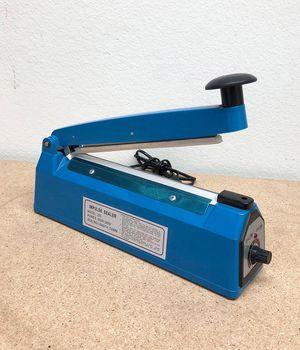 "$15 each NEW 8"" Heat Sealing Impulse Manual Sealer Machine Poly Tubing Plastic Bag Teflon for Sale in Pico Rivera, CA"