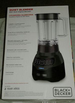 Black & Decker Quiet Blender 800 watt for Sale in Henderson, NV