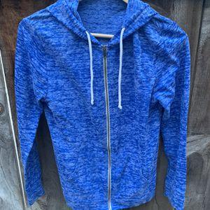 Blue Zip Sweatshirt With Hoodie for Sale in San Diego, CA