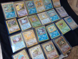 22PC VINTAGE POKEMON COLLECTION NM for Sale in Ontario, CA