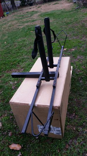 """Twin Bicycle Rack fits 2"""" Receiver Hitch Black for Sale in Bellamy, VA"""