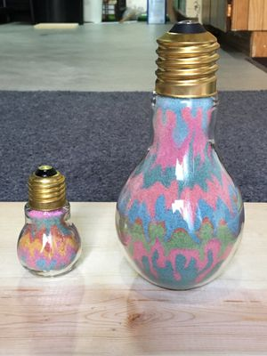 HAND MADE SAND BOTTLES for Sale in Woodhaven, MI