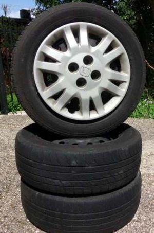 Honda Parts (Wheels, Hood, and Gaskets) for Sale in San Antonio, TX