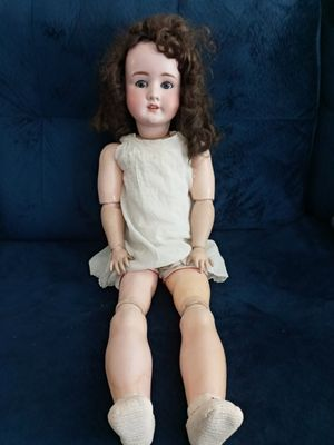 VERY RARE 1906- 31IN ANTIQUE SCHOENAU & HOFFMEISTER SH STAR PB 914 #13 BISQUE GERMANY DOLL. 117 YR OLD DOLL, A WORLD COLLECTOR DOLL. for Sale in Covington, KY
