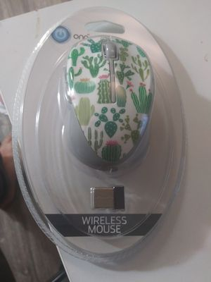 Onn Wireless Mouses with cute designs//Cactus Green//Pink Flamingo//Pink Llama//Yellow Pineapple//Blue Unicorn for Sale in Austin, TX