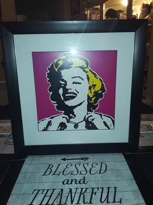 MARILYN MONROE PICTURE for Sale in Chicago, IL