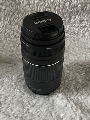 Canon EF 75-300mm brand new for Sale in Orlando, FL