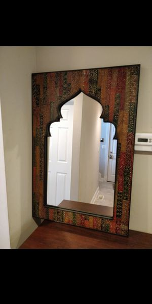 """World Market Accent Mirror New Condition 24"""" x 36"""" for Sale in Cleveland, OH"""