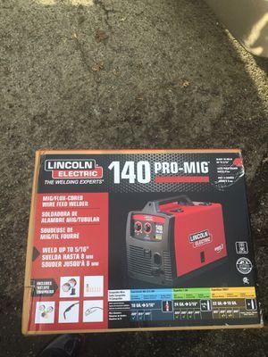 Lincoln welder 140 Pro-mig for Sale in Stockton, CA