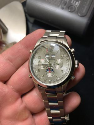 Rolex watch for men Automatic Made in Swiss for Sale in Chicago, IL