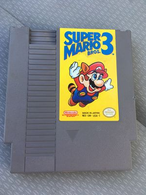 Super Mario 3 original Nintendo game for Sale in San Diego, CA