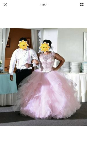 Mori Lee Sweet 16/Quinceañera Pink Dress Size 12, Clothing size 8 for Sale in Middletown, NJ