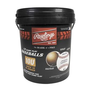 (12 Pack) Rawlings Bucket of 10U Official League Baseballs *Brand new!! for Sale in Hoffman Estates, IL
