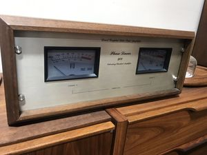 Phase Liner Model 400 Amplifier in Original Walnut Case for Sale in Gig Harbor, WA