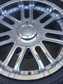 """20"""" Inch Rims And Tires for Sale in Morgan Hill,  CA"""