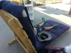 Futon Chair/bed for Sale in Cottonwood Heights, UT