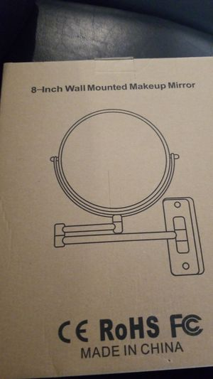 Wall mount makeup mirror for Sale in Phoenix, AZ