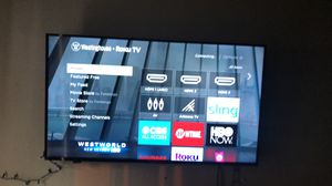 Westing house 50 inch 4K Ruku tv for Sale in Austin, TX