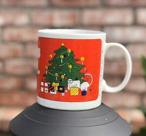 Vintage 1980 Taylor and NG Christmas White/Red Mug Cup Joyous Noel for Sale in San Diego, CA