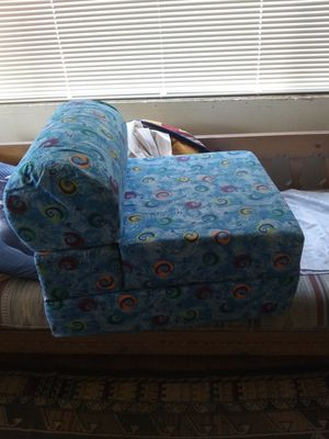 Home made kids fold out chair/ bed for Sale in Albuquerque, NM