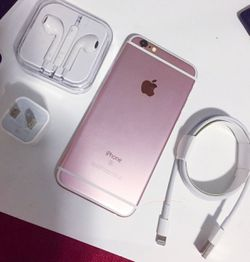 iPhone || 6S || iCloud Unlocked || Works For Any SIM Company Carrier | Works For Locally & INTERNATIONALLY || >Like New< for Sale in Springfield,  VA