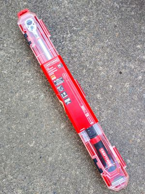 "Craftsman 1/2"" Digital Torque Wrench for Sale in Tacoma, WA"