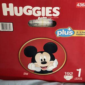 Huggies Little Snuggler Size 1 for Sale in Fresno, CA
