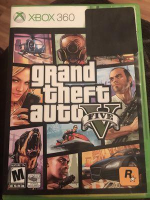 GTA 5 (Xbox 360) for Sale in Guadalupe, CA