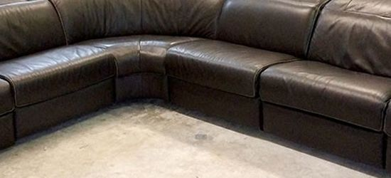 Lexington 6pc Italian Leather Sectional Sofa for Sale in Decatur,  GA